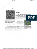 Visual Glossary of Geologic Terms - Basalt