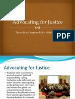 Faithful Citizenship Webinar Presentation - John Gonzalez