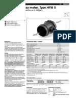 Bosch HFM 5 Sensors_airmass