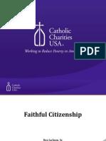 Faithful Citizenship Webinar Presentation - Ron Jackson