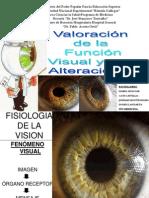 Valoración de la funciín visual y sus alteraciones