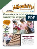 Revista infantil Añaskitu 85