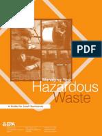 Waste disposal /odlaganje opasnog otpada