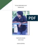 Tutorial ArcGis Geostatistik_Maulana