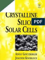 Crystalline Silicon Solar Cells
