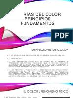Teorías del Color, Principios y Fundamentos