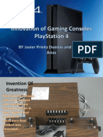 innovation of gaming consoles
