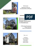 retrofitting for residential energy efficiency in somerville