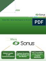 Sonus Overview