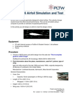 a1 2 6 airfoil simulation and test by javier prieto