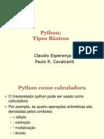 002 - Programando em Python - Tipos Basicos.ppt