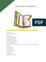 Frases que se pueden utilizar en los reportes de evaluación.doc