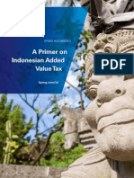 A Primer on Indonesian Added Value Tax
