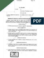 Websleuths Defendants Original Response
