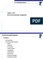 Lecture #9 Environmental Aspects