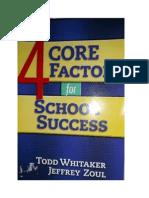 The 4 Core Factors for School Success