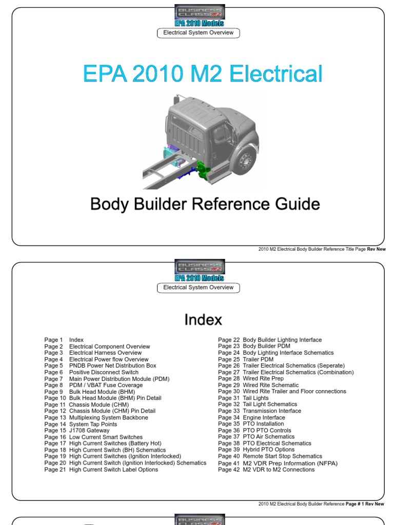Epa 2010 Electrical Guide Switch Connector 362 Peterbilt Wiring Diagrams Pdf