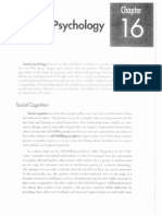 social psychology review packet