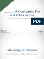 MOAC 70-687 L15 File Access