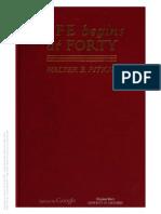 Life Begins at Forty - Walter B. Pitkin