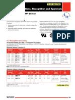 Watlow Agency Heaters Certifications