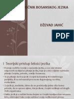 Školski Rječnik Bosanskog Jezika