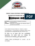 TAREAS Y GUIAS DE ESTUDIO  DE SEGUNDO AÑO 2014.docx