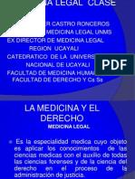 primera clase reseña historica med.legal.ppt