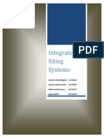 Integrated Siting System