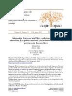 Asignación Universal por Hijo, condiciones de vida y educación. Las política sociales y la inclusión escolar en la pcia de Bs As- Gluz.pdf