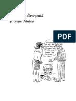 tema7Gandirea divergentasi creativitateaCameliaStaiculescu