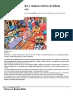 Los productos textiles y manufactureros de Bolivia triunfan en Venezuela.docx