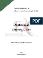 ERCS-Directiva 1-2008