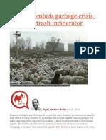 Beijing Combats Garbage Crisis With New Trash Incinerator
