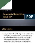 Ingeniería Biomédica Aspectos Históricos
