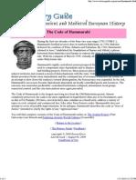 The Code of Hammu 1