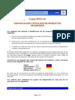 CODIGO NFPA 704 IDENTIFICACION Y ROTULADO DE PRODUCTOS PELIGROSOS.doc