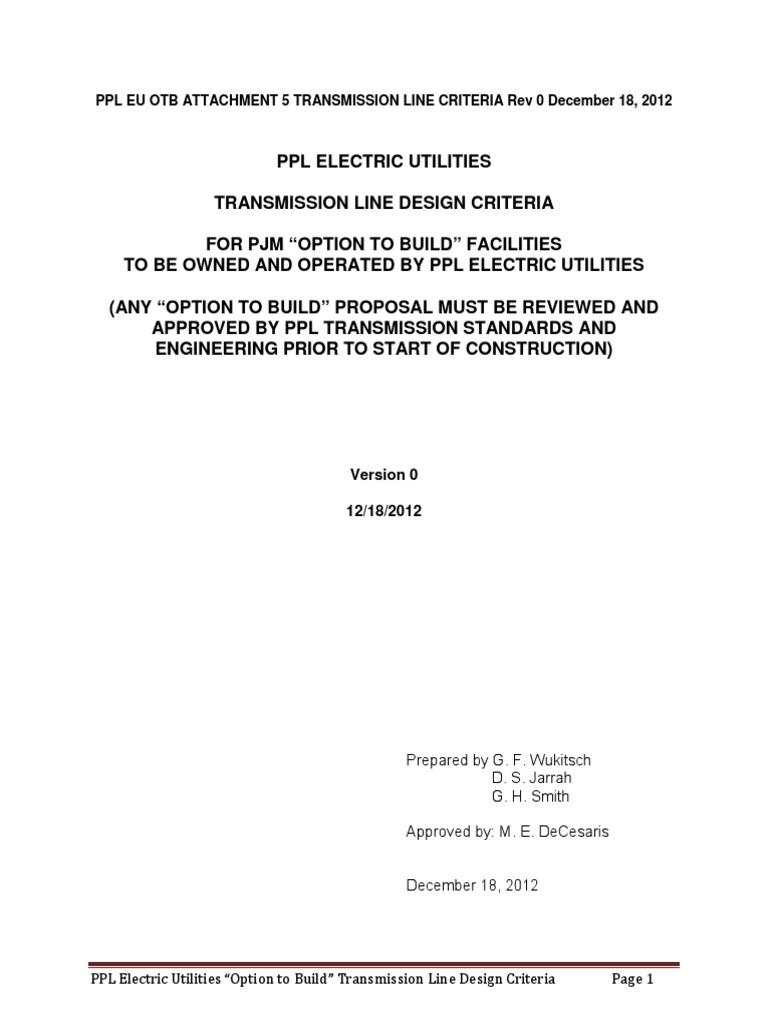 very good_attachment-5-transmission-line-design-criteria.pdf | Cable ...
