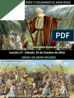 Lección 17 - Confiando en Dios y Cruzando el Mar Rojo.pdf