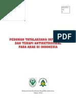 Pedoman Tatalaksana Infeksi HIV dan Terapi Antiretroviral Pada Anak di Indonesia