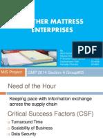 Feather Mattress Enterprises SecA Grp05