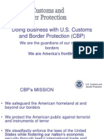 JORGE How to Do Business With CBP - 10 09 14
