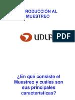 Sesion 07 INVESTIGACION DE MERCADOS Muestreo 2014-2.ppt