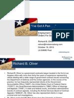OLIVER US WEST-#804698287-V1-LA SAME Executive Order Employment Law