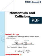 PHY11 Lesson 3jhb Momentum and Collisions 2Q1415