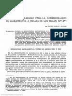 Manual Toledano para administración de sacramentos a través de los sigloa.