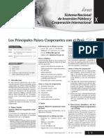 PRINCIPALES PAÍSES COOPERANTES PARA EL PERÚ