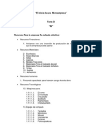 El inicio de una  Microempresa 2.1.docx