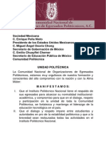 Manifiesto de Unidad Politecnica Nacional..pdf