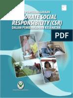 Pedoman Penyelenggaraan Corporate Social Responsibility (CSR) dalam Pembangunan Kesehatan